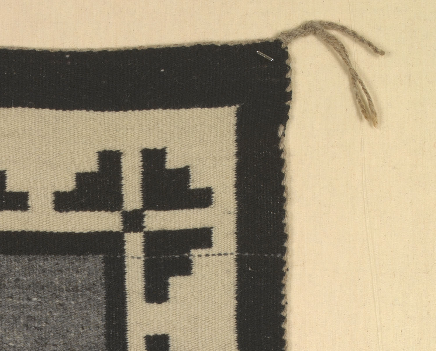 Detail of Navajo textile