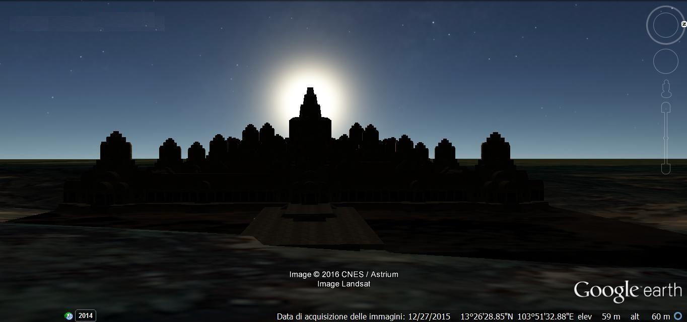 sim Google Earth sun setting