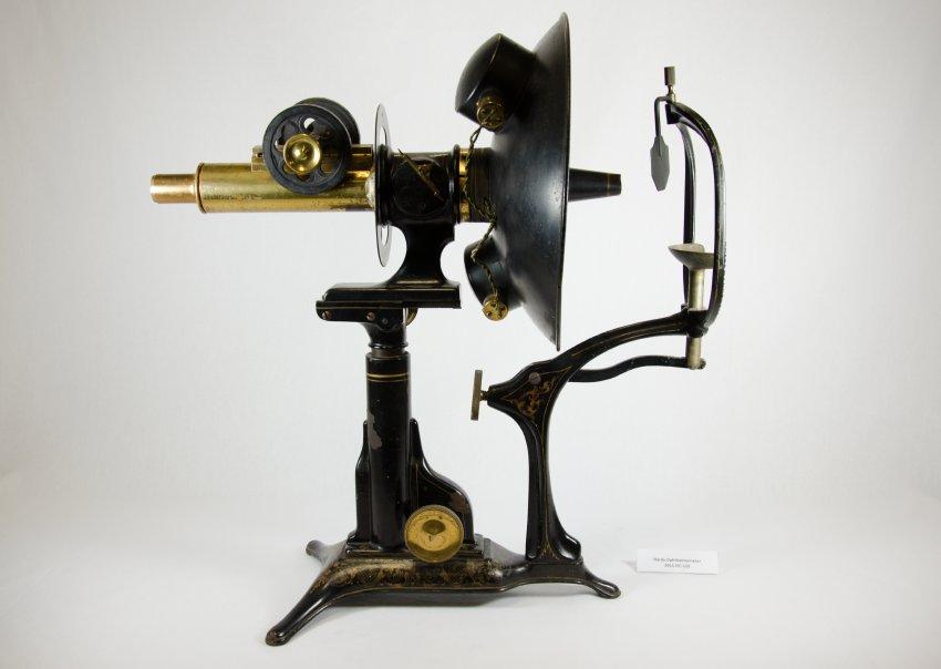 F. A. Hardy & Company C.I. (Chambers, Inskeep) Ophthalmometer, circa 1904. 2015.FIC.0122 US-mosio