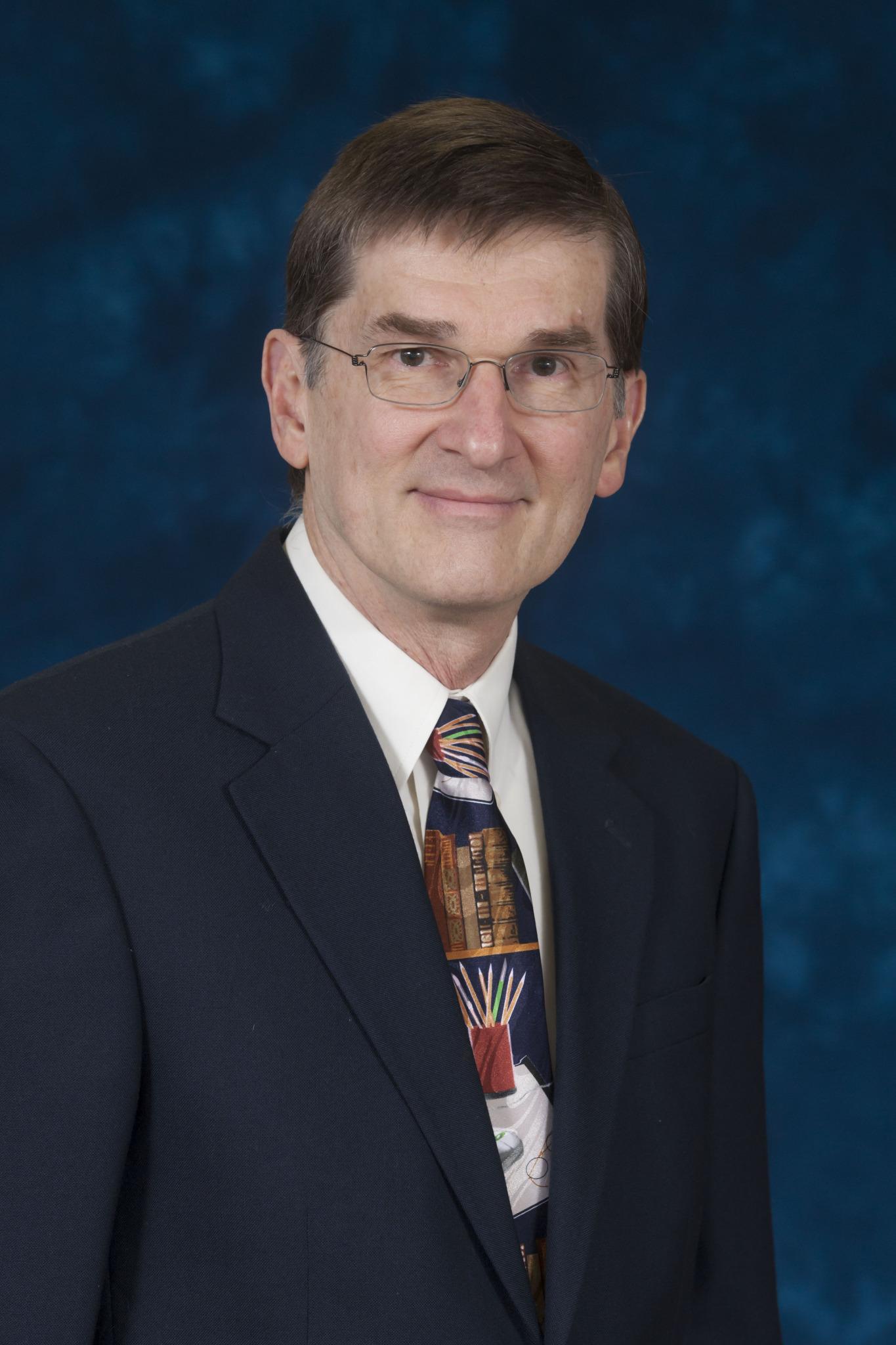 Portrait of author, Dr. David Goss