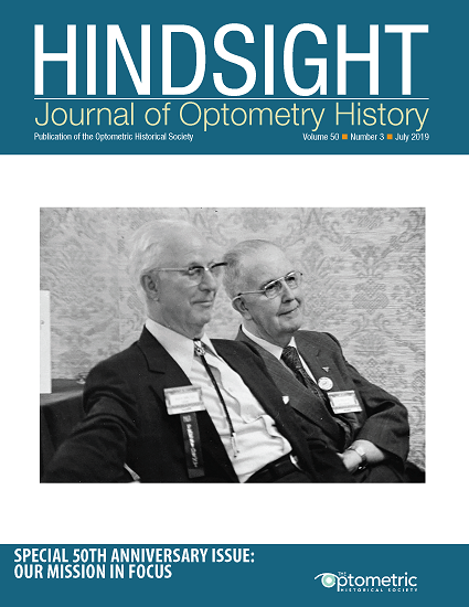 Cover of Hindsight Volume 50, Number 3