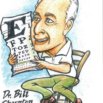 Caricature of Dr. Bill Sharpton