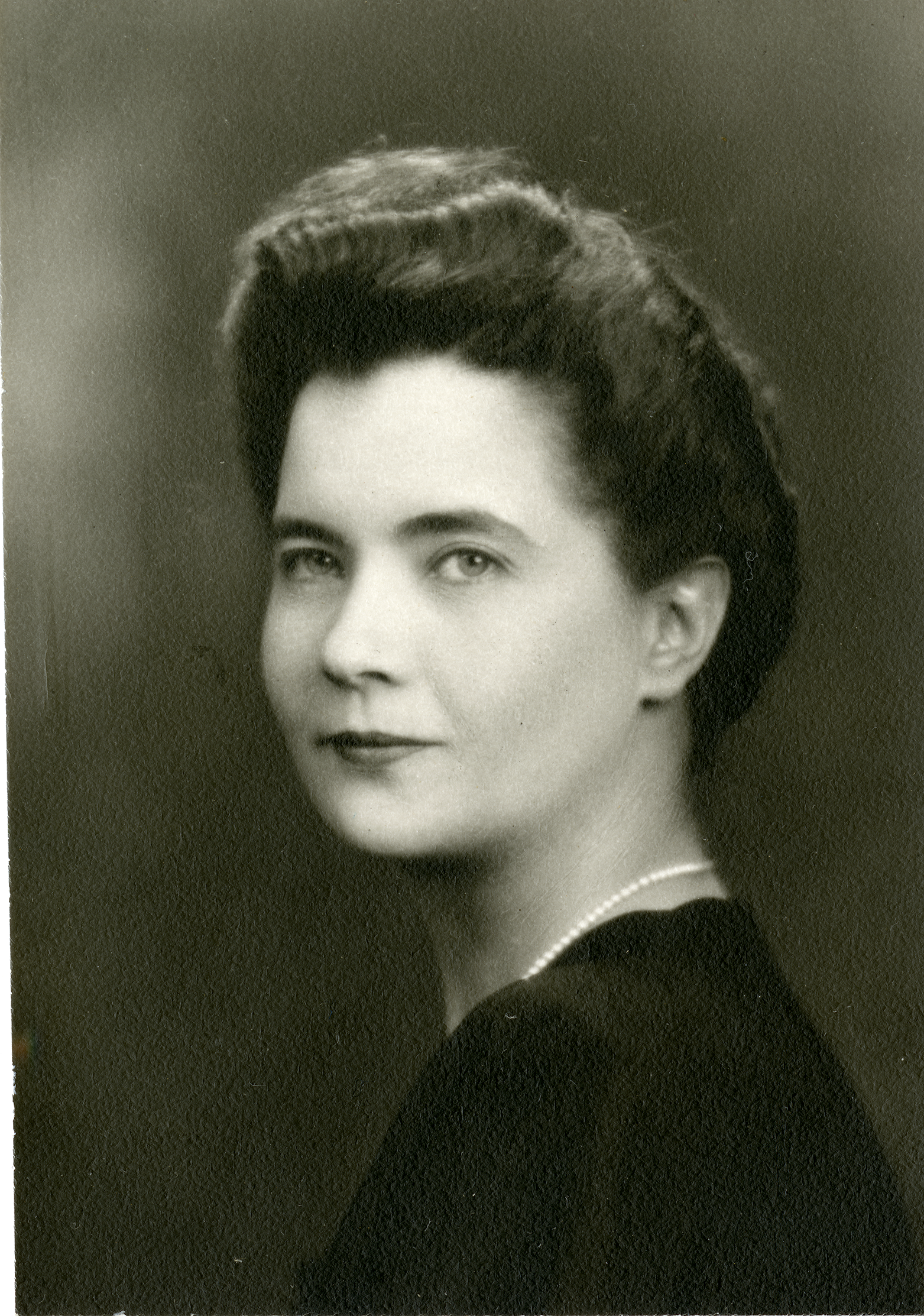 Portrait of Lois Bing, O.D., circa 1950