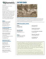 Image of inside front cover, including publication information