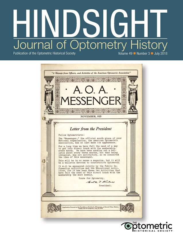 A.O.A. Messenger, Volume 1, November, 1925