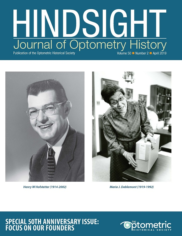 Images of Henry W Hofstetter, OD, PhD and Maria Dablemont