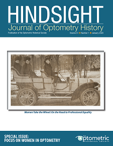 Cover featuring image of Dr. Gertrude Stanton and family in her 1907 Oldsmobile