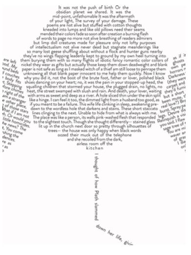 mirror poem by sylvia plath