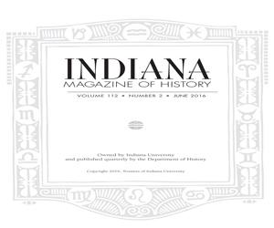 logo for Indiana Magazine of History