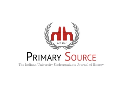 logo for Primary Source: The Undergraduate Journal of History at Indiana University